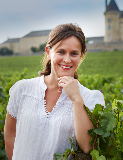 Anne-Laure Hernette, vinicultrice